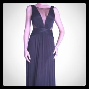 BCBG sexy evening dress